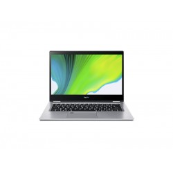 "Laptop Acer Spin 3 SP314-54N-315R Híbrido (2-en-1), 14"", Pantalla táctil Intel Core i3-1005G1, RAM 8GB LPDDR4, Disco 256GB SSD Wi-Fi 6, Windows 10 Home, Plata"