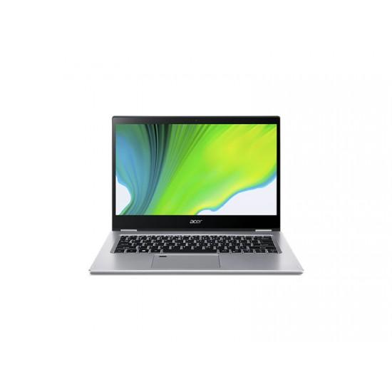 "Laptop Acer Spin 3 SP314-54N-315R Híbrido (2-en-1), 14"", Pantalla táctil Intel Core i3-1005G1, RAM 8GB LPDDR4, Disco 256GB SSD Wi-Fi 6, Windows 10 Home, Plata"