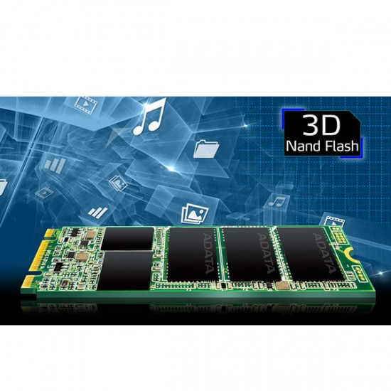ADATA ASU800NS38-256GT-C, unidad de estado sólido, SSD, M.2, Capacidad 256GB, Serial ATA III, TLC