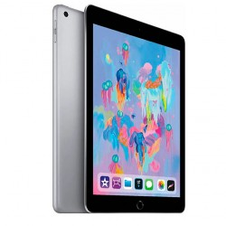 "Tableta Apple iPad - 24.6cm (9.7"") - 32GB Almacenamiento - iOS 11 - Gris - Apple A10 SoC - ARM Hurricane Dual-core 2.34GHz, 1.2Megapíxel Cámara frontal - 8Megapíxel Cámara trasera"