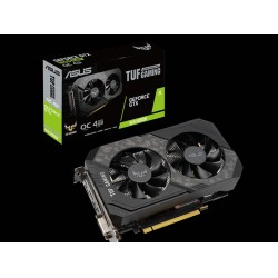 Tarjeta gráfica de video, ASUS TUF-GTX1650S-O4G-GAMING NVIDIA GeForce GTX 1650 SUPER, 4GB, GDDR6