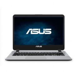 "Laptop Asus F407UA-BV478R, Gris, Pantalla de (14""), Procesador 7ª generación Intel® Core i3-7020U, RAM 4 GB, Disco Duro 1TB, HDD + flash Optane, Windows 10 Pro"
