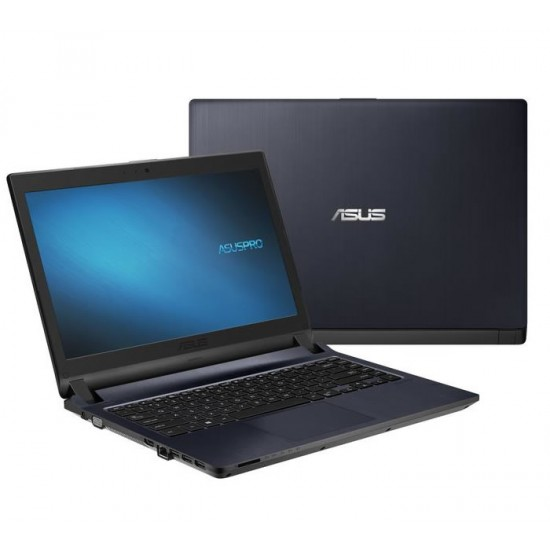 "Laptop Asus Pro P1440FA-FQ1592R, Negro, 14"", 1920 x 1080 Pixeles, Intel Core i3-10110U, Ram 8GB DDR4, D.D. 256GB SSD, Wi-Fi 5, Windows 10 Pro"