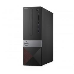 Computadora, DELL Vostro 3471, Procesador Intel Core i3-9100, Ram 4GB DDR4, Disco 1000GB, Formato SFF Negro, Gris, Rojo, Windows 10 Profesional
