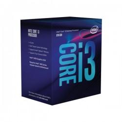 Procesador INTEL Core i3-8100, Intel Core i3, 3,6 GHz, 4 núcleos, LGA1151, 6 MB