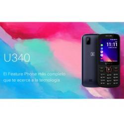 """Celular LANIX U340 Color Azul, SKU 28388, Sistema KaiOS, pantalla 2.4"""" QVGA, Cámara Trasera 1.3 Mpx, Procesador Mediatek MTK6572, Batería 800 mAh"""