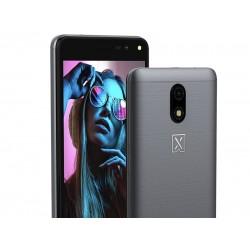 "Celular Lanix X550, Smartphone, Color Gris, SKU 28379, Sistema Android 10 GO, Pantalla 5"" FWVGA, 32GB ROM, 1GB RAM, Batería 2,000 mAh, 3G, Cámaras 5/5Mpx"