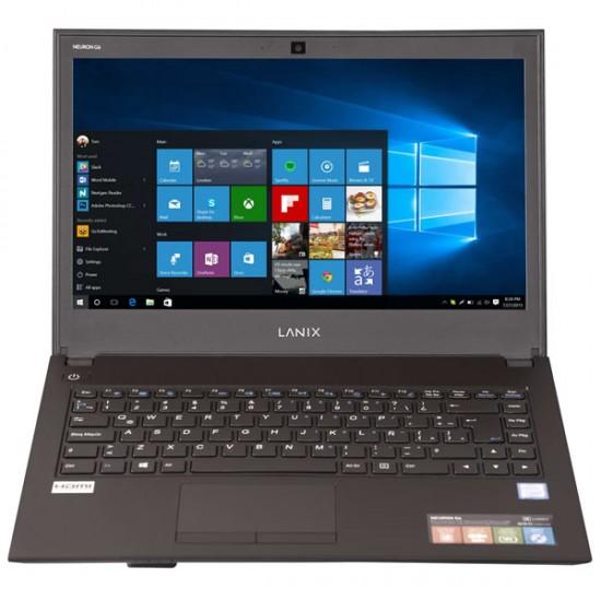 "Laptop Lanix Neuron G6, Pantalla 14"", Intel Core i5-8250U, RAM 8GB, Disco 500GB, DVDRW, Windows 10 Pro"