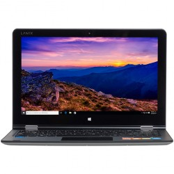 "Laptop Neuron Flex Lanix, Intel Celeron N3350, 2.4 GHz, Pantalla 13.3"" FHD ángulo de giro 360°, RAM 4GB, Disco 64GB, Bluetotth 4.0, Windows 10 Pro 64 bits, IRON"