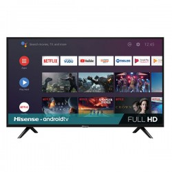"Televisión 40"", Hisense, Full,  HD Android 40H5500F, Color Negro"
