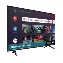 "Televisión 40"", Hisense, Full,  HD Android 40H5500F, Color Negro"